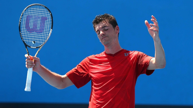 Frank Dancevic aired his frustration at the powers-that-be in Melbourne