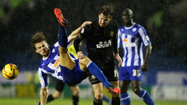 Manchester United loanee Nick Powell (centre) has made a major impact in his short spell at Wigan