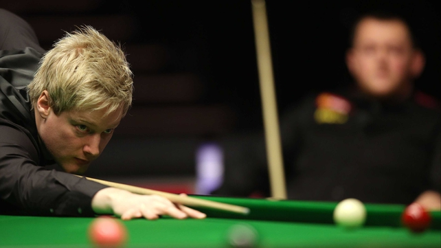 Neil Robertson had to dig deep to overcome Yu Delu