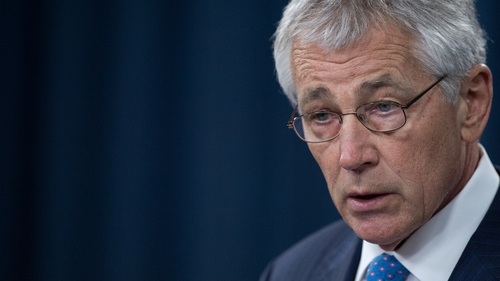 A spokesman said Defense Secretary Chuck Hagel 'was deeply troubled to learn of these allegations'
