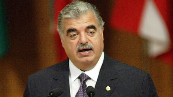 Rafik al-Hariri was assassinated in a massive car bomb in 2005