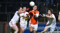 Brian Carthy watched Tyrone hammer Armagh by 24 points in the McKenna Cup.