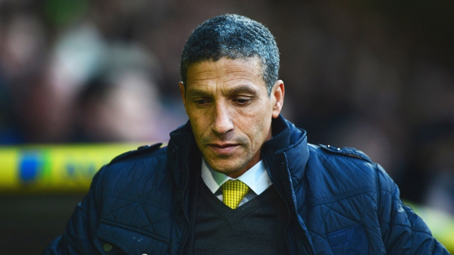 Norwich CEO David McNally has warned Chris Hughton that the club won't hesitate to sack him if results go against them