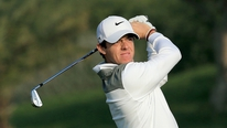 Rory McIlroy was happy with his form after his first competitive round of the season.