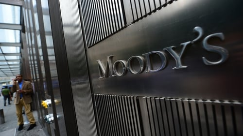 Moody's is expected to raise its outlook on Ireland's credit rating to positive from stable tomorrow