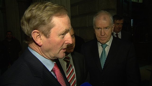 Taoiseach Enda Kenny said the reaction of PAC members spoke for itself
