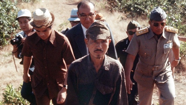 Hiroo Onoda was only persuaded to surrender in 1974, 29 years after the war ended