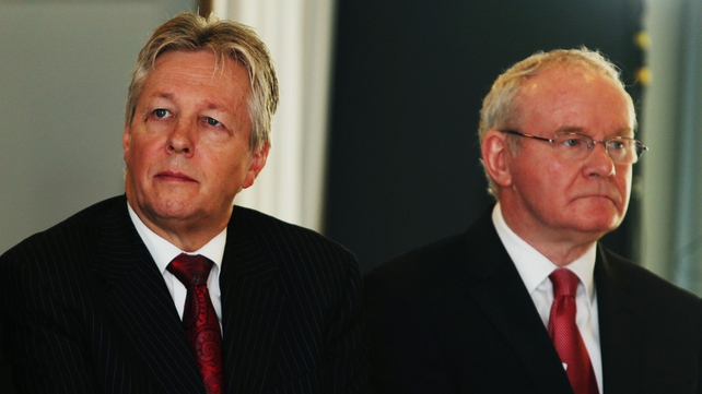 Peter Robinson said Martin McGuinness had an exaggerated view of his role in the talks process