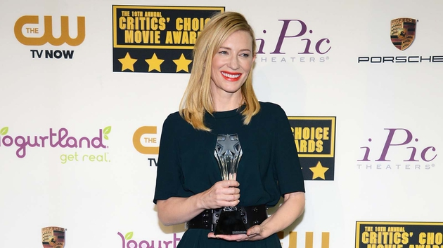 Cate Blanchett named Best Actress