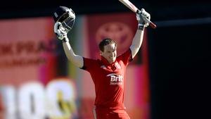 Winter, spring, summer or fall...Eoin Morgan has the backing of fellow batsman James Taylor