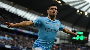 Sergio Aguero has extended his stay with City until 2019