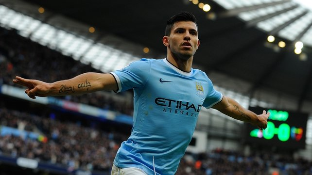 Will Manchester City manage without Sergio Aguero this weekend?