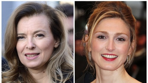 Valerie Trierweiler (left) fell ill after revelations Francois Hollande was having an affair with Julie Gayet