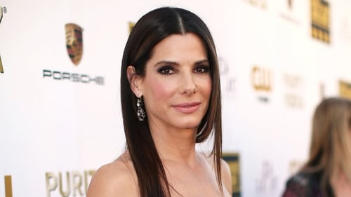 Sandra Bullock - delighted to be a superhero!