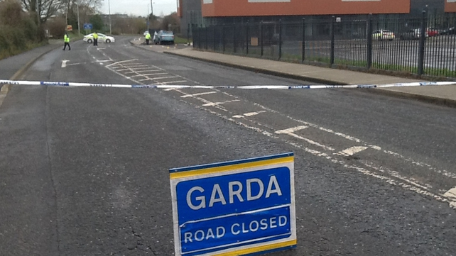The main Dublin Road in Balbriggan is closed for a forensic examination and diversions are in place