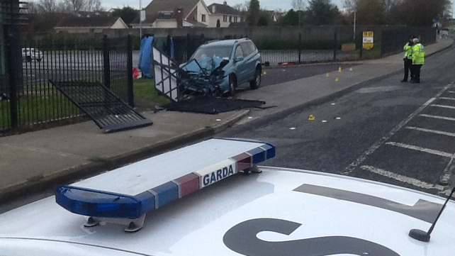 The fatal accident happened on the main Dublin Road into Balbriggan