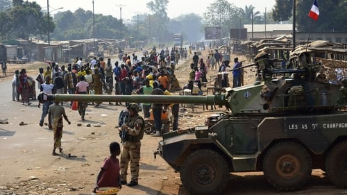 France has already sent 1,600 troops to the Central African Republic