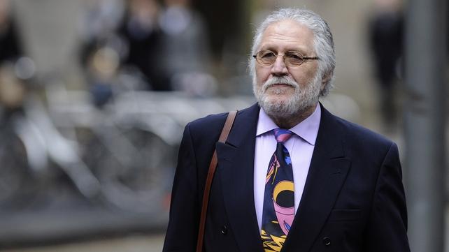 Former BBC DJ Dave Lee Travis arrives at court in London