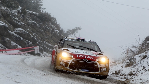 Kris Meeke and Paul Nagle face four more stages on the final day of the Monte Carlo Rally on Saturday