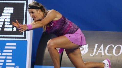 Victoria Azarenka set up another clash with Sloan Stephens in Melbourne