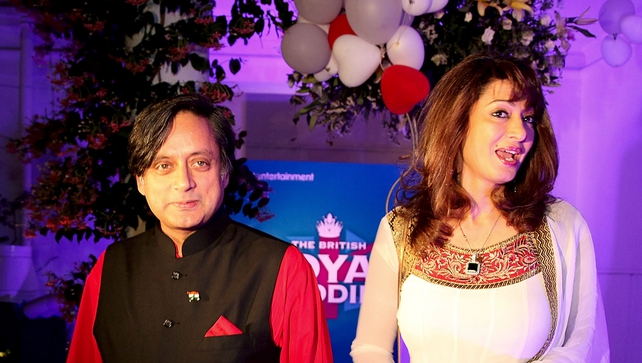 Shashi Tharoor and Sunanda Pushkar were well known on the Indian socal circuit