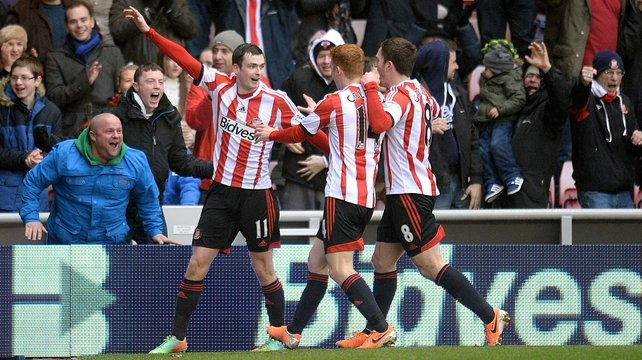Adam Johnson continued his rich vein of form with the only goal of the game for the home side