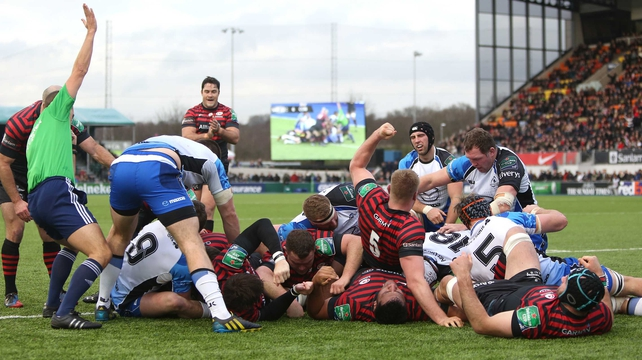 Saracens racked up 11 tries at Allianz Park