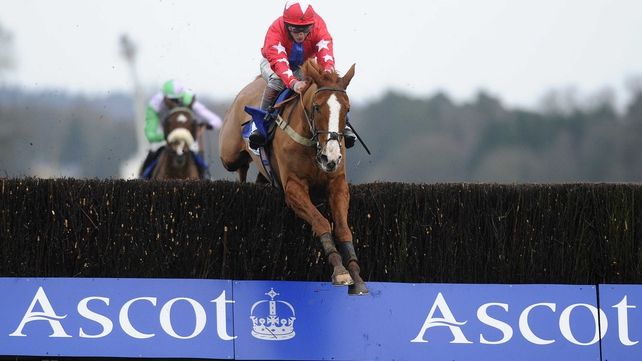 Sire De Grugy clears the last to land the spoils