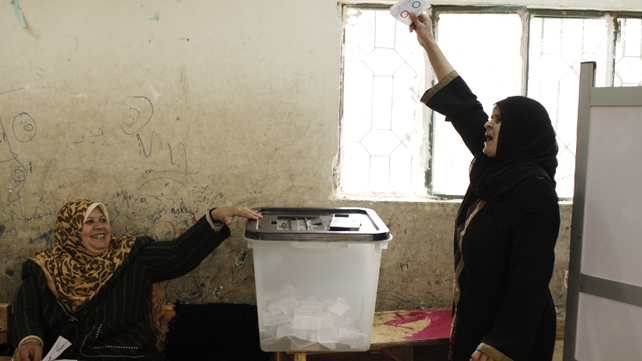 "The turnout in Egypt's constitutional referendum ""reached 38.6%,"" higher than that in a 2012 referendum under ousted president Mohammed Mursi, the electoral chief said at a press conference"