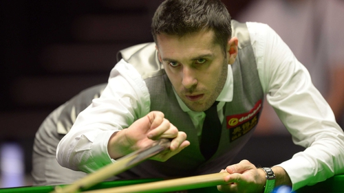 Mark Selby suffered a shock defeat against Mike Dunn
