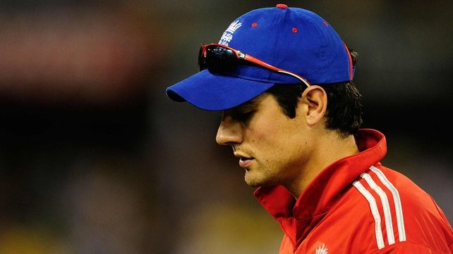 Alastair Cook said English cricket may need a change