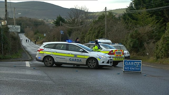 A garda patrol car returned to the original scene and found Mr Devoy's body