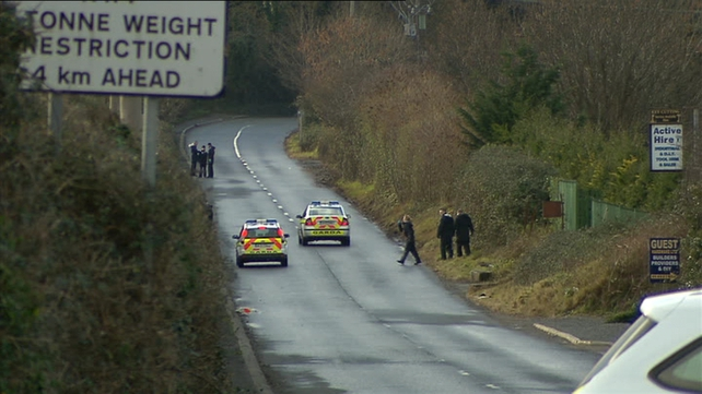 The body was discovered after gardaí on a routine patrol came across suspicious activity