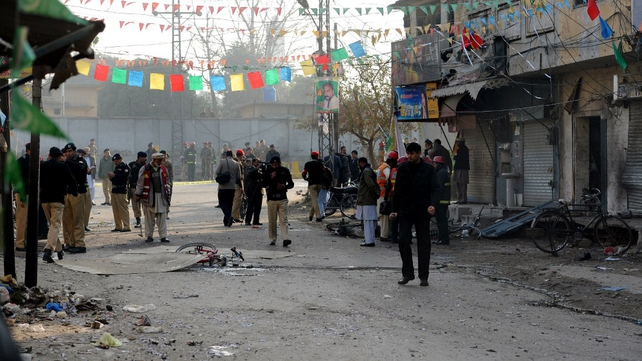 A Taliban spokesman claimed responsibility for the attack