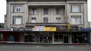 The Daniels building in Masterton was evacuated due to structural damage