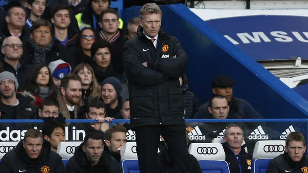 David Moyes' United have now lost seven of their 22 league games so far this season
