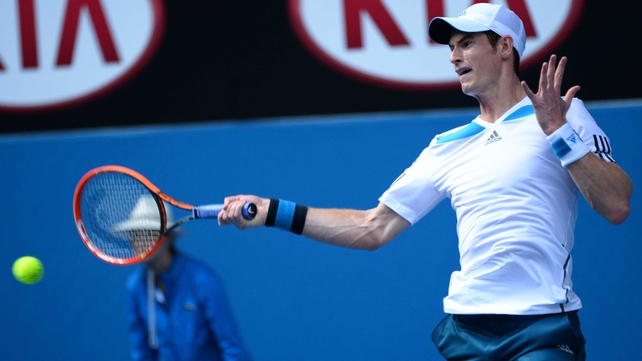 Andy Murray dropped a set on his way to victory