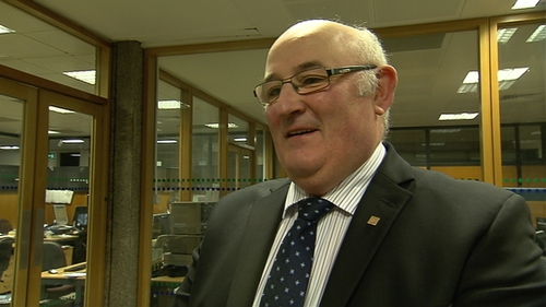 Gerard Craughwell appealed for votes, saying he is independent