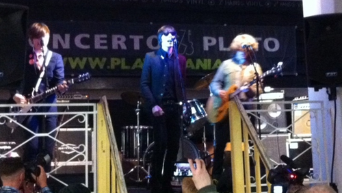 The Strypes on stage at Groningen