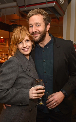 Calvary stars Kelly Reilly and Chris O'Dowd