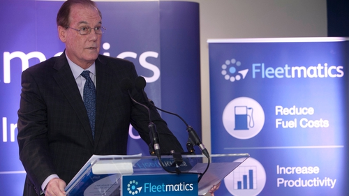 Fleetmatics CEO Jim Travers says company's European expansion continues