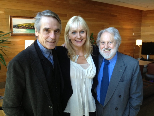 Jerermy Irons & David Puttnam