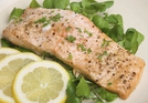 Oven Baked Salmon with a dill glaze  - A delicious fish dish from Martin Shanahan on the Today Show.