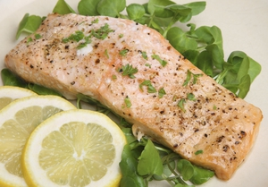 Martin Shanahan's Oven Baked Salmon with a Dill Glaze