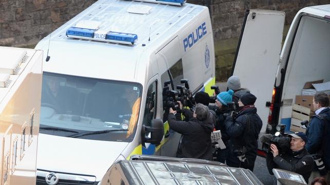 Ms Kular arrives at Edinburgh Sheriff Court