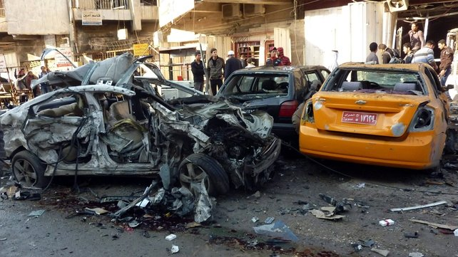 The attacks happened in mainly Shia areas of Baghdad