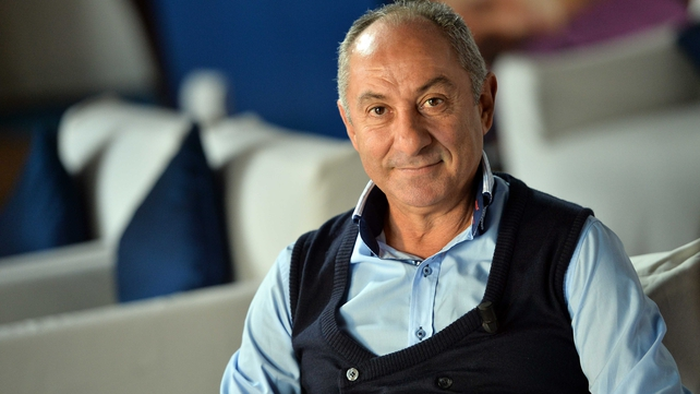 Ossie Ardiles was in the Falkland's to film a documentary