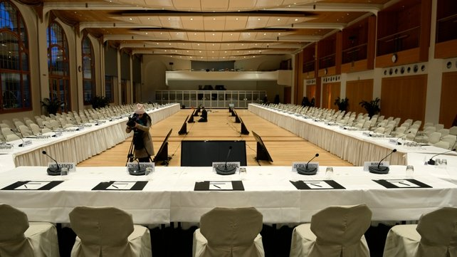 The Geneva II conference is due to begin tomorrow