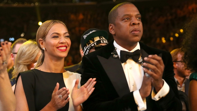 Beyonce and Jay Z at last year's Grammys