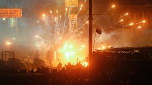 Ukrainian President Viktor Yanukovych has warned that the violence threatens all of Ukraine
